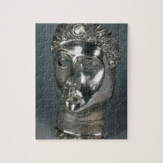 Silver mask, Roman, 1st half of 3rd century AD (si Jigsaw Puzzle