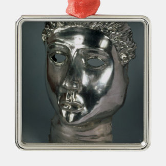 Silver mask, Roman, 1st half of 3rd century AD (si Metal Ornament