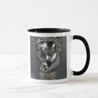 Silver mask, Roman, 1st half of 3rd century AD (si Mug