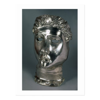 Silver mask, Roman, 1st half of 3rd century AD (si Postcard