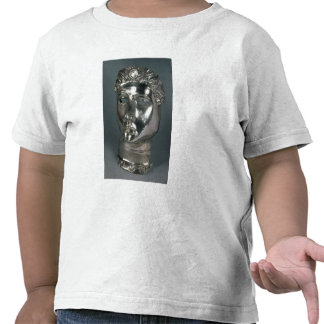Silver mask, Roman, 1st half of 3rd century AD (si Tshirt