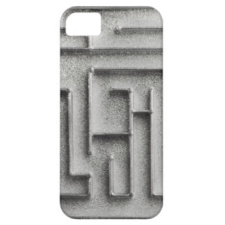 Silver maze iPhone SE/5/5s case