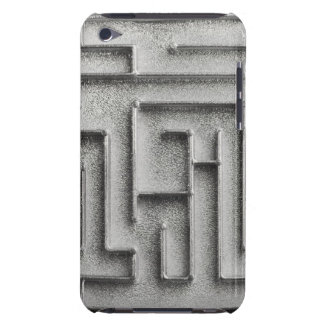 Silver maze iPod touch Case-Mate case