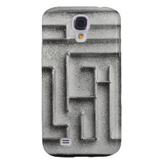 Silver maze samsung galaxy s4 cover