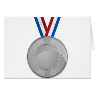 Silver Medal Card