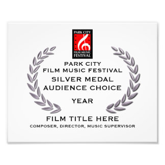 """Silver Medal Certificate 10"""" x 8"""" Photo Print"""