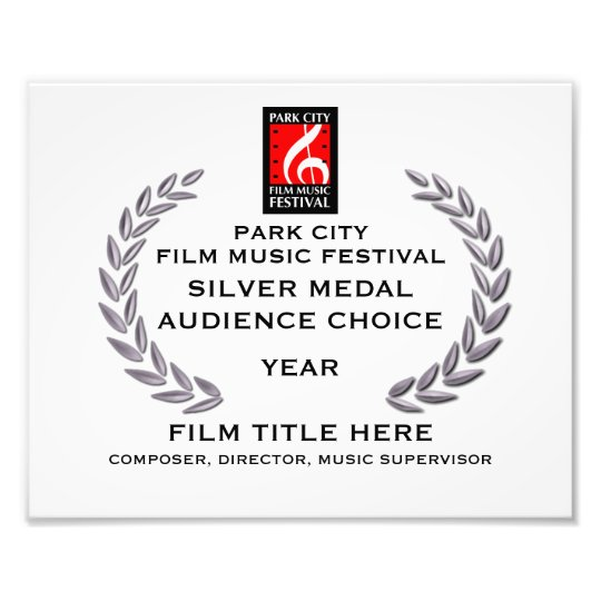"Silver Medal Certificate 10"" x 8"" Photo Print"