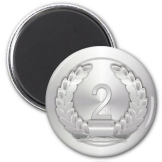 Silver Medal Refrigerator Magnets
