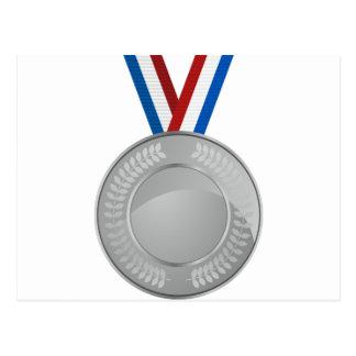 Silver Medal Postcard