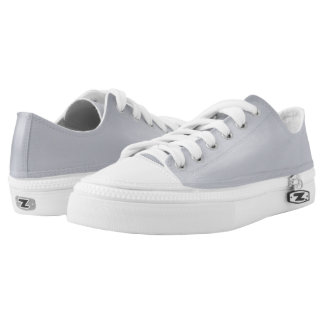 Silver Medal Solid-Colored Lo-Top Sneakers