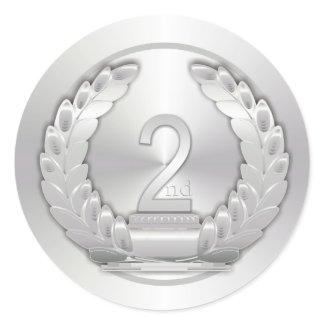 Silver Medal sticker