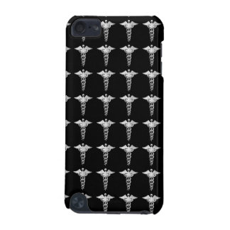Silver Medical Caduceus iPod Touch (5th Generation) Cover