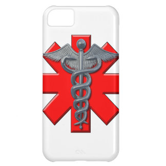 Silver Medical Profession Symbol iPhone 5C Cover