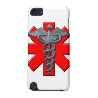 Silver Medical Profession Symbol iPod Touch 5G Cover
