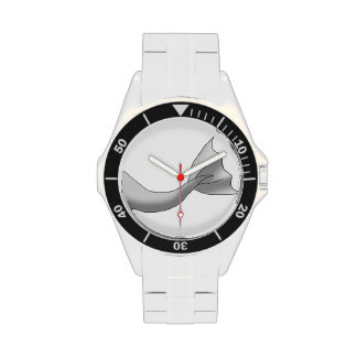 Silver Mermaid Tail Watch