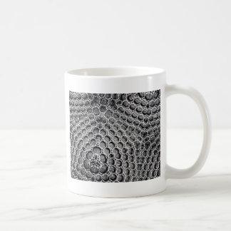 Silver Mesh Coffee Mug