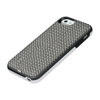 Silver Mesh Pat. IPhone 5/5S Battery Case
