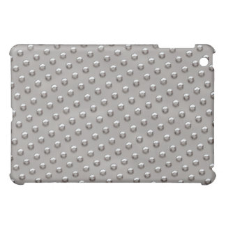 Silver Metal Dots Case For The iPad Mini