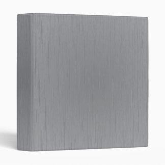 Silver Metal Look 3 Ring Binder