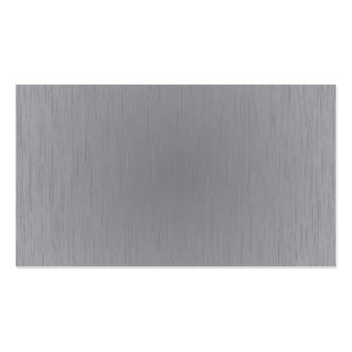 Silver Metal Look Double-Sided Standard Business Cards (Pack Of 100)
