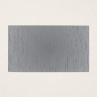 Silver Metal Look Business Card
