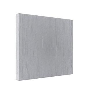 Silver Metal Look Canvas Print
