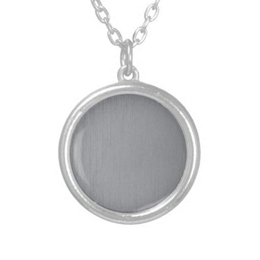 Silver Metal Look Custom Jewelry