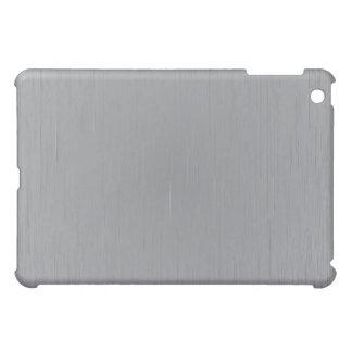 Silver Metal Look iPad Mini Covers