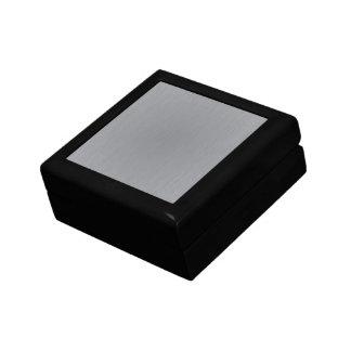 Silver Metal Look Jewelry Box