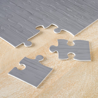 Silver Metal Look Jigsaw Puzzle
