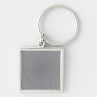 Silver Metal Look Keychain