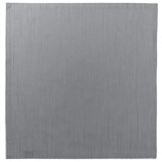 Silver Metal Look Napkin