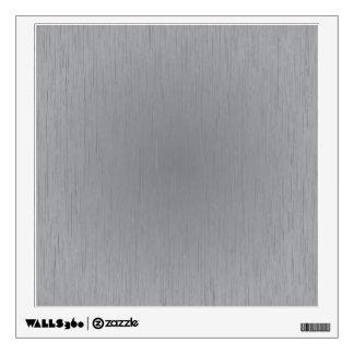 Silver Metal Look Wall Sticker