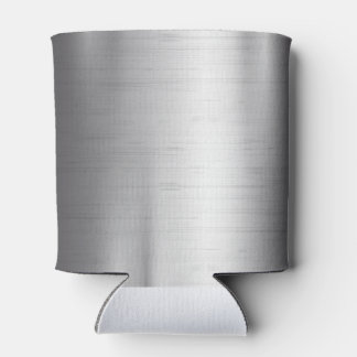 Silver metal texture can cooler