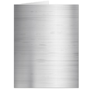 Silver metal texture card