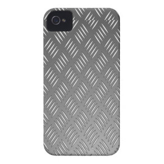 Silver Metal Texture iPhone 4 Case