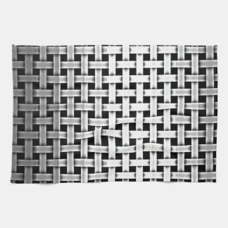 Silver Metal Weave Kitchen Towels