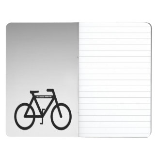 Silver Metallic Bicycle Abstract Journal