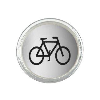 Silver Metallic Bicycle