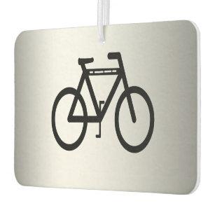 Silver Metallic Cycling Air Freshener