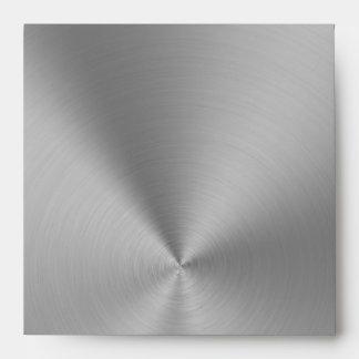 Silver metallic Envelope