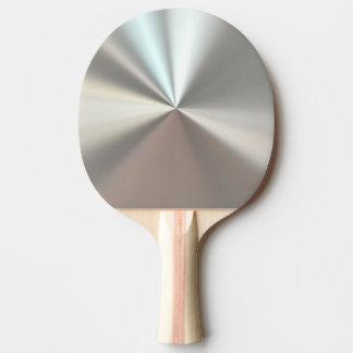 Silver Metallic Ping Pong Paddle