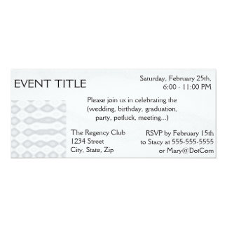 Silver Metallic Looking Background Card