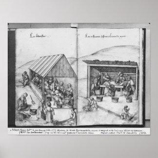 Silver mine of La Croix-aux-Mines, Lorraine 2 Poster