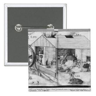 Silver mine of La Croix-aux-Mines, Lorraine 3 Pinback Button