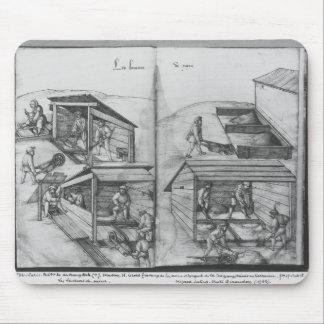 Silver mine of La Croix-aux-Mines, Lorraine Mouse Pad