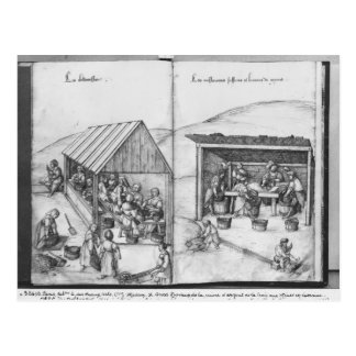 Silver mine of La Croix-aux-Mines, Lorraine Postcard