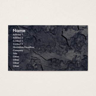 Silver moon business card