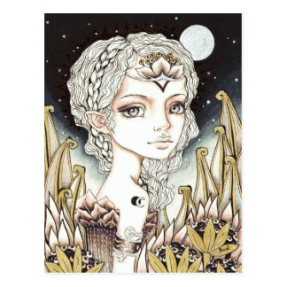 Silver Moon Postcard