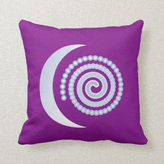 Purple And Silver Pillows - Decorative & Throw Pillows Zazzle